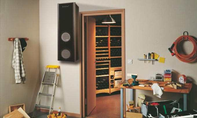 EuroCave.  Create a Wine Cellar in your home. Inoa Wine Cellar Conditioner.