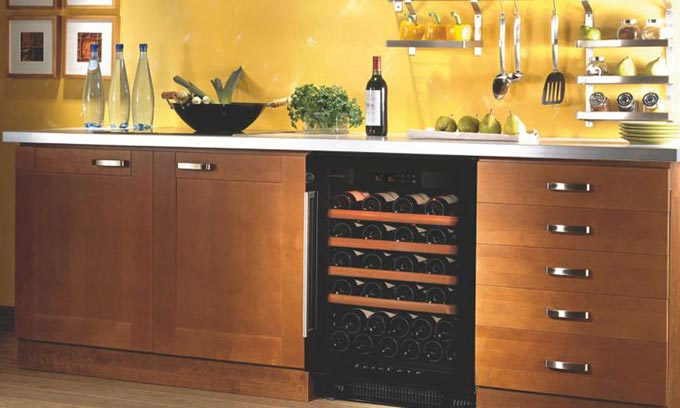 EuroCave Under Bench Kitchen Wine Cabinet S059 Multi Temp.  Built In.