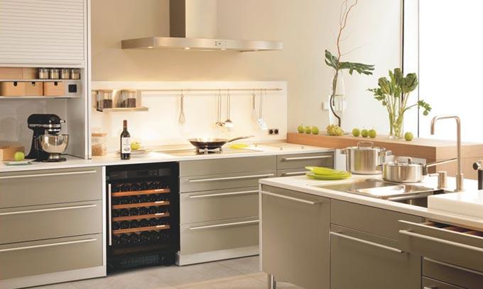 EuroCave Under Bench Kitchen Wine Cabinet S059 Multi Temp