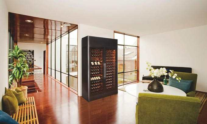 EuroCave.  Wine Cabinet.  Display and Preserve Hundreds of Bottles of wine.  9000 Series ShowCave.