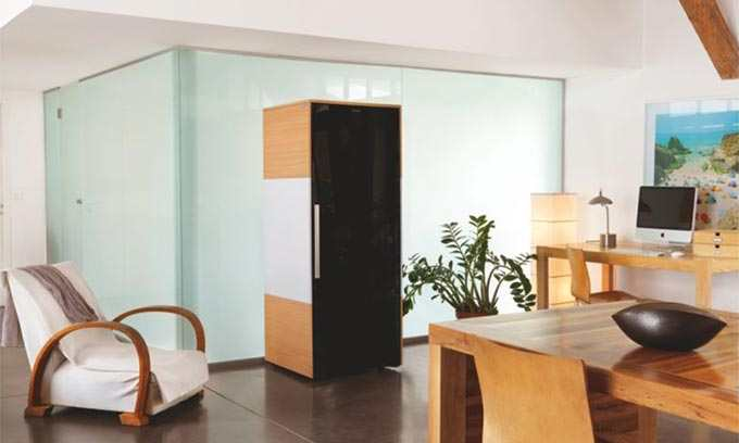 EuroCave Wine Cabinet.  Stunning Design for Boardroom or Home.  EuroCave Collection