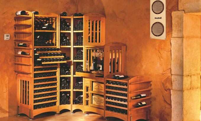 EuroCave.  Cellar your wine at home under ideal conditions. Inoa Wine Cellar Conditioner.