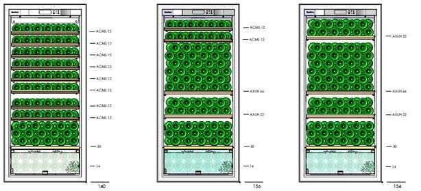D183 Shelving Configurations