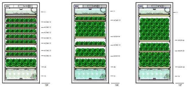 E183 Shelving Configuration