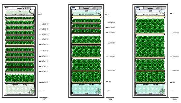 E283 Shelving Configuration