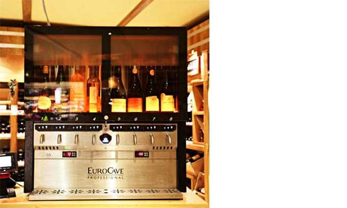EuroCave VOV3 Serve Wine By The Glass