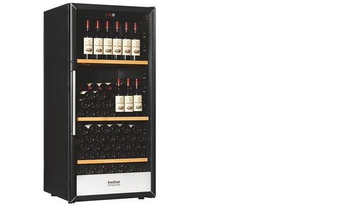 EuroCave Wine Cabinet Display Shelves