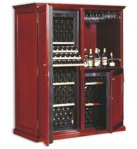EuroCave Elite C7 Wood Furniture Wine Cabinet
