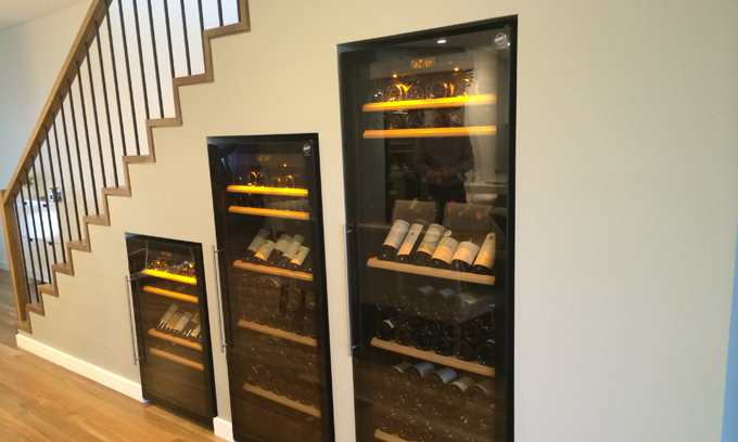 Wine Cabinets Under Stairs