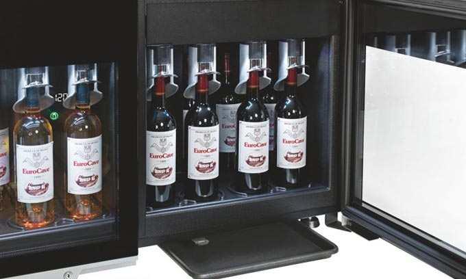 EuroCave WineBar Ideal Serving Temperature