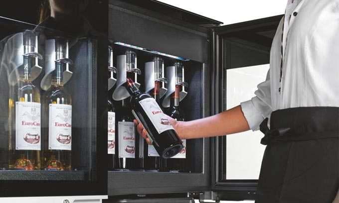 Easy Access EuroCave WineBar