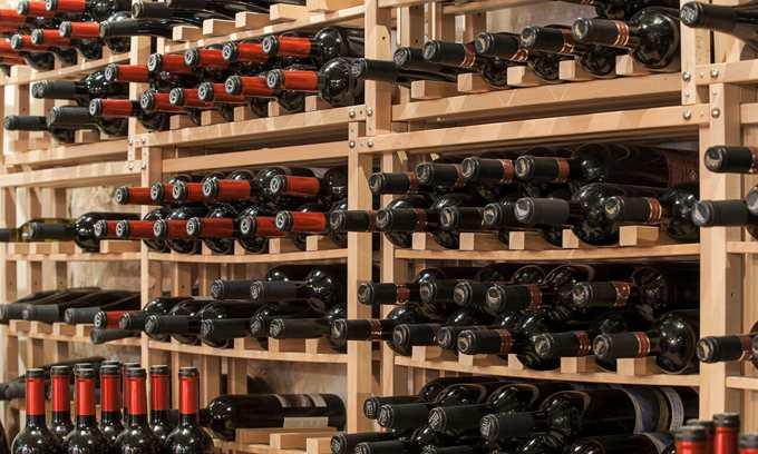 Modulocube Wine Racking