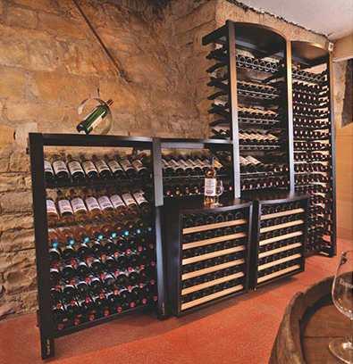 Modulosteel Wine Racks