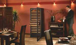 EuroCave Pure Wine Cabinet Fridge Sliding Shelves
