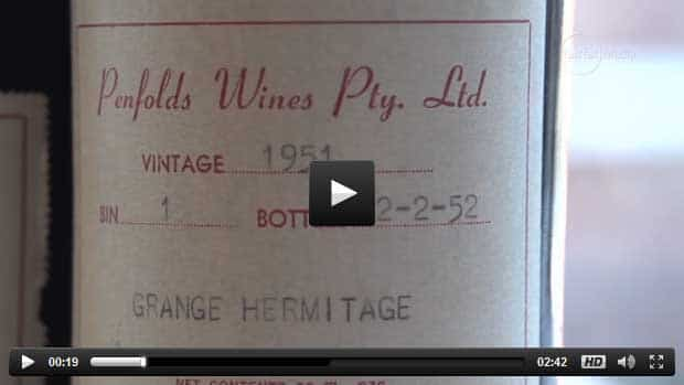 The Crying Room Penfolds Grange Recorking Clinic Video