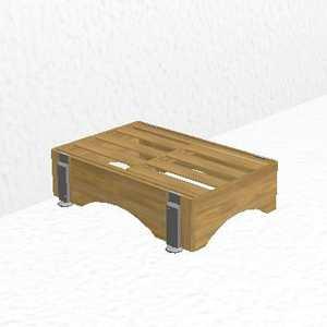 pedestal module narrow
