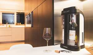 Preserve open bottles of wine. Enjoy wine by the glass and avoid wastage