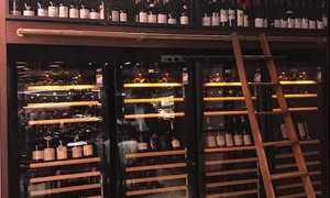 Customise wine cabinets to meet business needs and suit your wine list