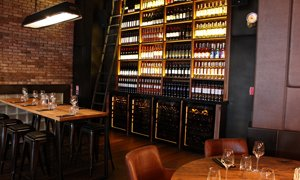 Revelation Wine Cabinets in Crazy Hall Wine Room