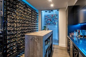Wine Cellar with Inoa Wine Conditioner