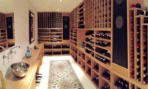 Custom Build Cellar With Inoa Cellar Conditioners