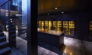 EuroCave ShowCave Wine Cabinets Wall Private Residence