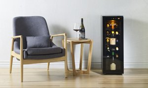 EuroCave Tete a Tete Wine Cabinet and Preserver in Home
