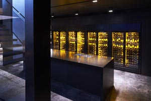 EuroCave ShowCave Wine Cabinets Wall Private Residence 2