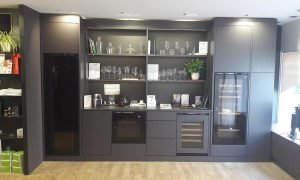 Inspiration Integrated Cabinet London Showroom
