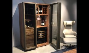 Inspiration Under Bench Wine Cabinet