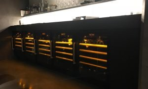 EuroCave Professional 5000 Under-bench Wine Cabinets For Hospitality Retrobottega