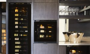 EuroCave Integrated Wine Cabinets Fridges in Showroom