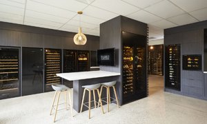 EuroCave Wine Cabinets Fridges Cellar Conditioner Racking in Showroom