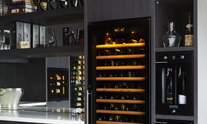 EuroCave Wine Cabinets Fridges Wine Preservation in Showroom