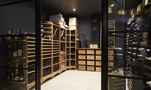 EuroCave Wine Cellar Racking Cellar Conditioner in Showroom 2