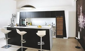 EuroCave Compact Integrated Wine Cabinet Kitchen