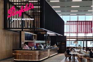 Penfolds Wine Bar, Adelaide airport