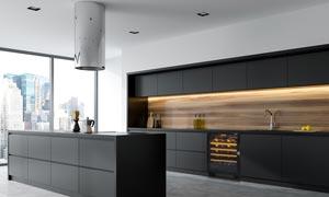 EuroCave Compact Underbench Wine Cabinet Fridge in Kitchen