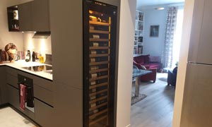 EuroCave Inspiration Large Integrated Wine Cabinet 02
