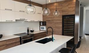 EuroCave Premiere Wine Fridge Built in Kitchen