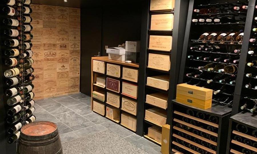 EuroCave Modulosteel Wine Cellar Racking
